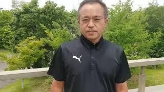【大分】山本氏(大分県サッカー協会 2種委員会委員長)大会後インタビュー